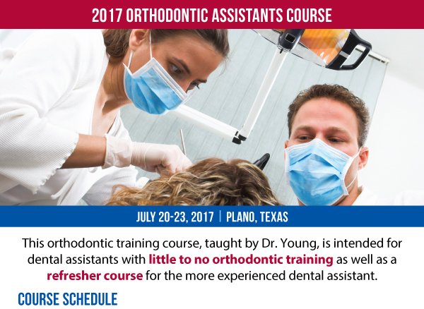 Academy of Gp Orthodontics Assistants Course 2017