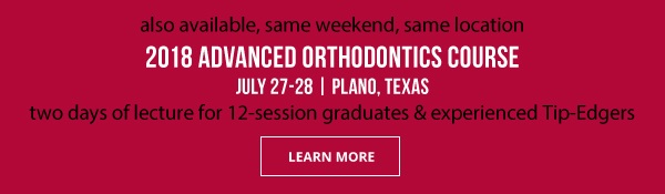 Learn More about AGpO's 2018 Advanced Orthodontic Course