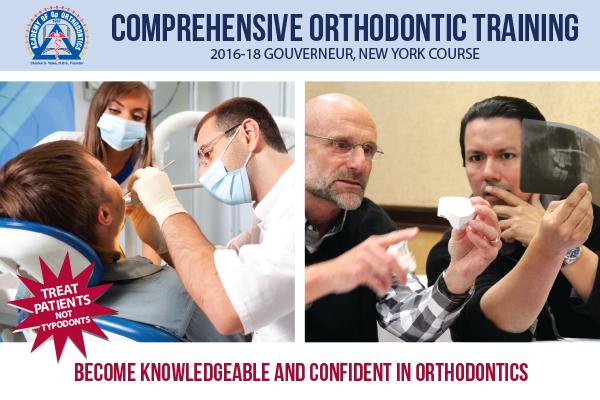 Academy of Gp Orthodontics 2016 New York Course