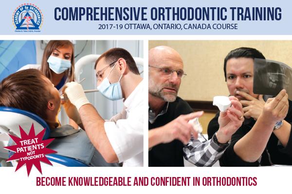 Academy of Gp Orthodontics 2016 Ottawa, Ontario, Canada Course