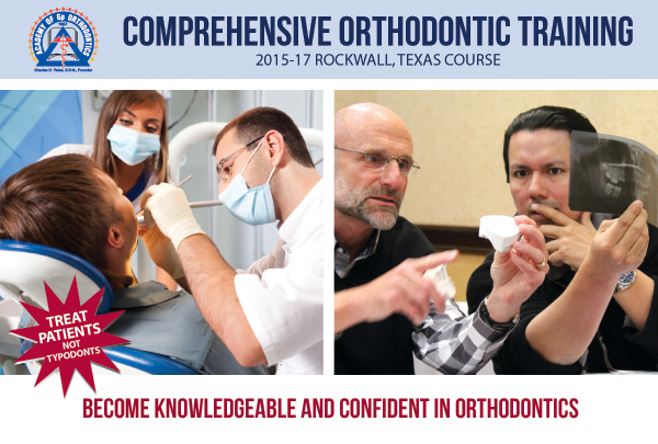 Academy of Gp Orthodontics 2015 Rockwall Course
