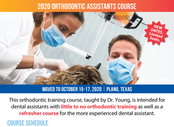Academy of Gp Orthodontics Assistants Course - October 2020